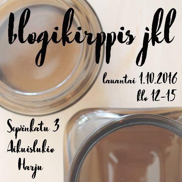 Ensi viikon lauantaina eli 1.10 pidetään järjestyksesssään neljäs Jyväskylän blogikirppis. Paikkana Harjun kupeessa sijaitseva Jyväskylän aikuislukio