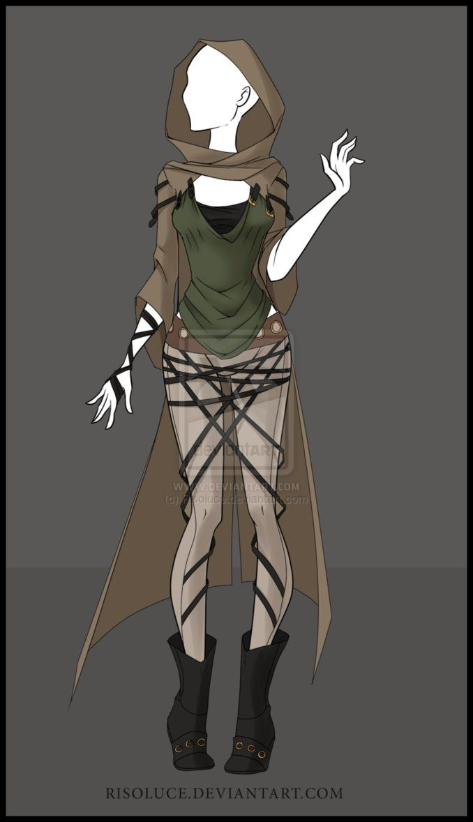 (CLOSED) Adoptable outfit Auction - 5 by Risoluce on DeviantArt