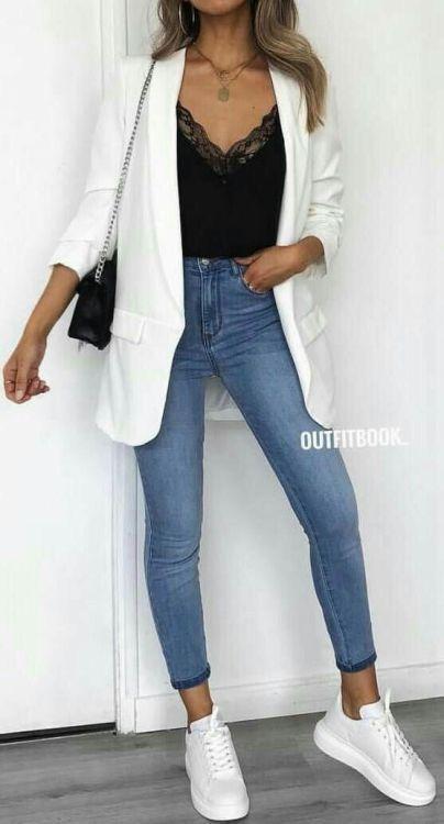 6 looks incríveis com blazer branco