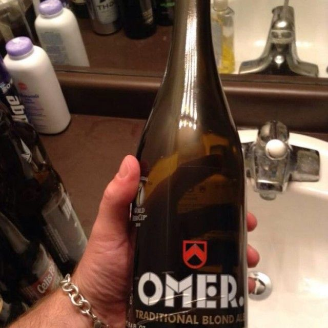 Omer Traditional Blond-Belgian Strong Pale Ale...
