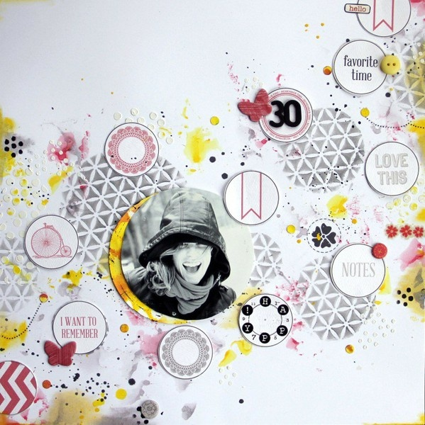 48 Best Gallery Pretties Images On Pinterest Scrapbook Layouts