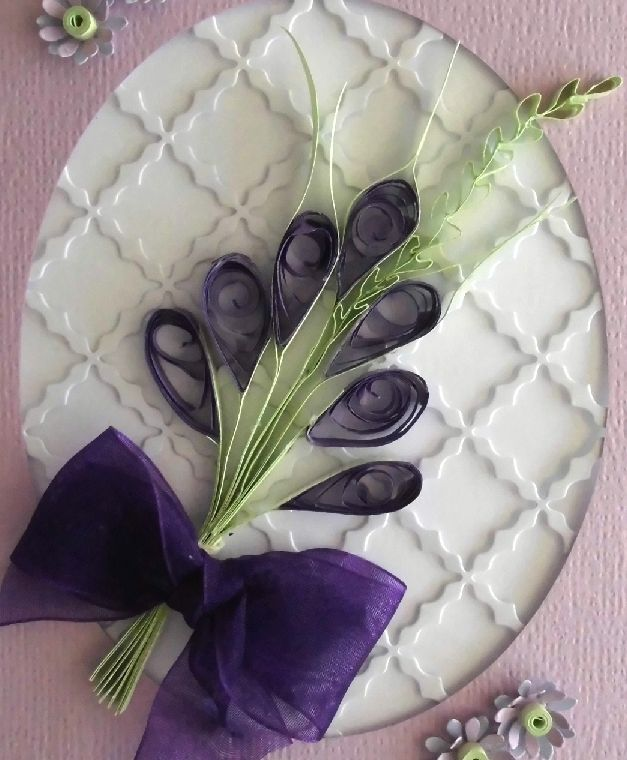 78 best my paper quillings flowers etc images on pinterest quilled purple bouquet mightylinksfo Image collections