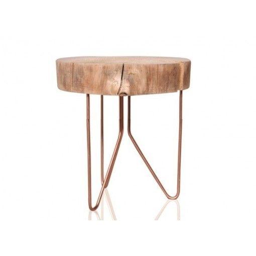 Gina Da planttafel hout koper