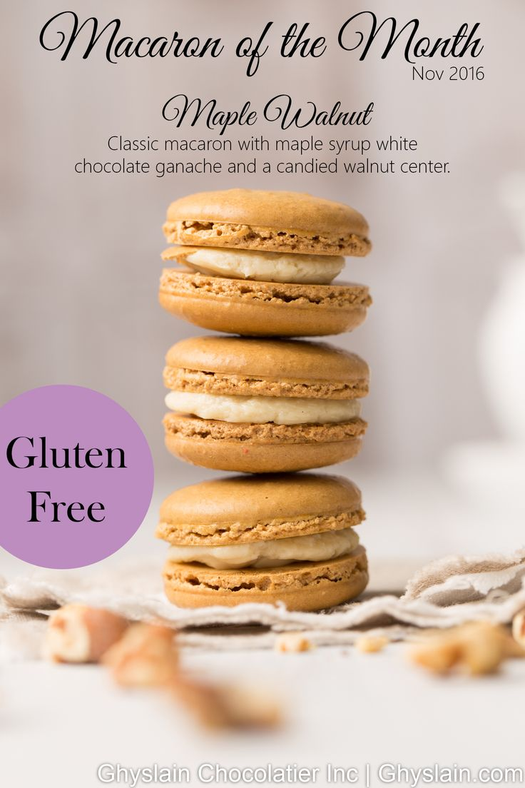 Best 25 french macarons order online ideas on pinterest order gluten free maple walnut french macaron available in november 2016 only stop into a ghyslain location to pick some up or order online urmus Image collections