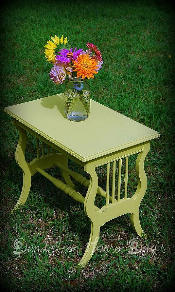 Hand Painted Furniture~ Annie Sloan Chalk Paint ~ ENGLISH YELLOW