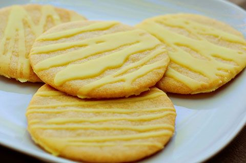 Knock off recipe for Lemonades Girl Scout cookies - they don't sell them in Indiana, but I got one from someone from Illinois and really liked them.  Hope this recipe tastes like the GS cookie.
