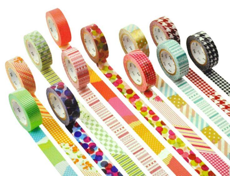 Tutorial come fare il WASHI TAPE (nastro adesivo decorato) fai da te - Idea pacchetti regalo