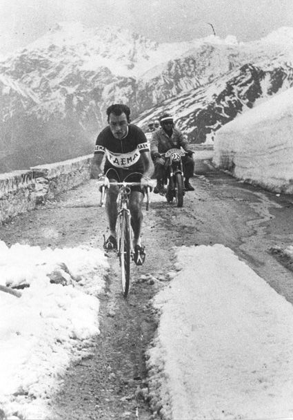Charly Gaul at the Giro d'Italia 1957