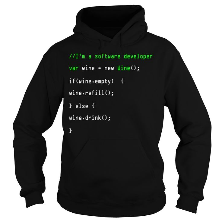 Im a software developer new wine refill drink tshirts  mens tshirt
