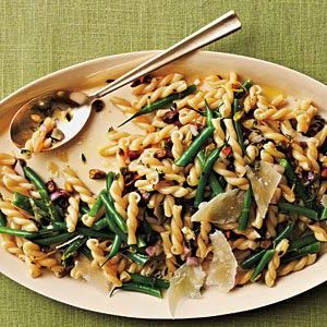 Gemelli Salad with Green Beans, Pistachios, and Lemon-Thyme Vinaigrette | Foodking