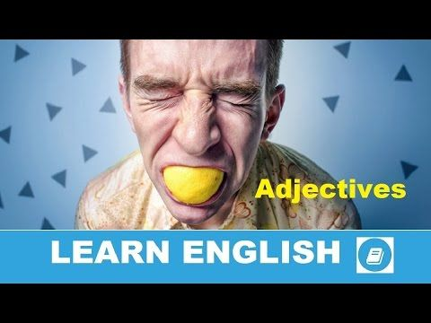 Learn English Vocabulary - Adjectives 3 - E ANGOL