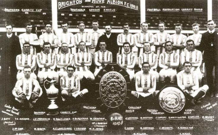 Brighton & Hove Albion Football Club para la temporada 1910