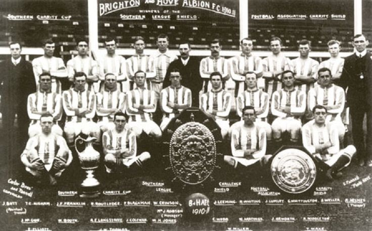 Brighton & Hove Albion Football Club para la temporada 1910