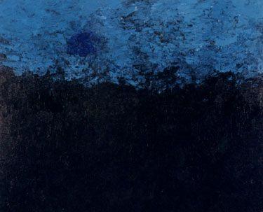 Armando Blaue Landschaft 4-12-01 150 x 200 cm olie op doek