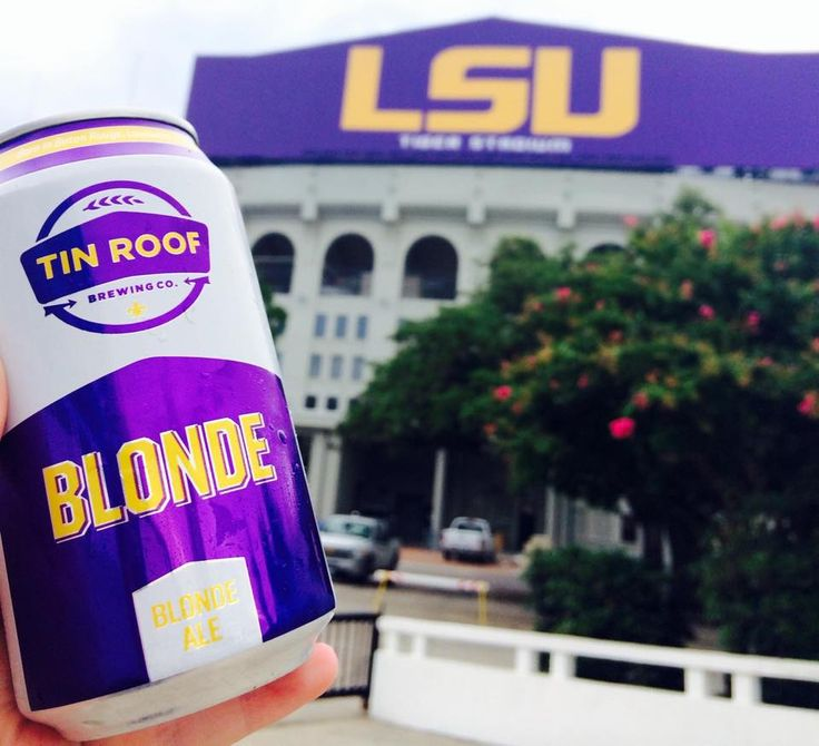 Make Sure To Stop By Tin Roof Brewing Company In Baton Rouge Before The Big  Bama
