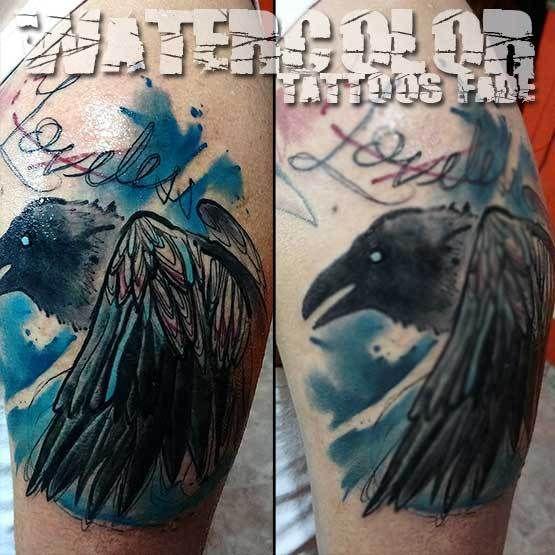 Tattoo Faded Watercolor