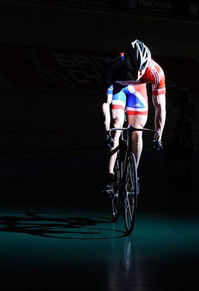 Chris Hoy - a cycling legend.