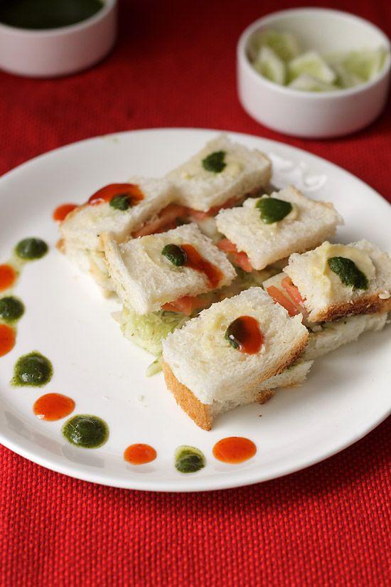 Mumbai Veg Sandwich Recipe, Vegetable Sandwich Recipe| Mumbai Streetfood