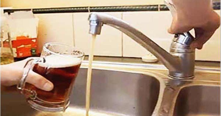 ¡La cerveza llegará a casa como el agua potable!