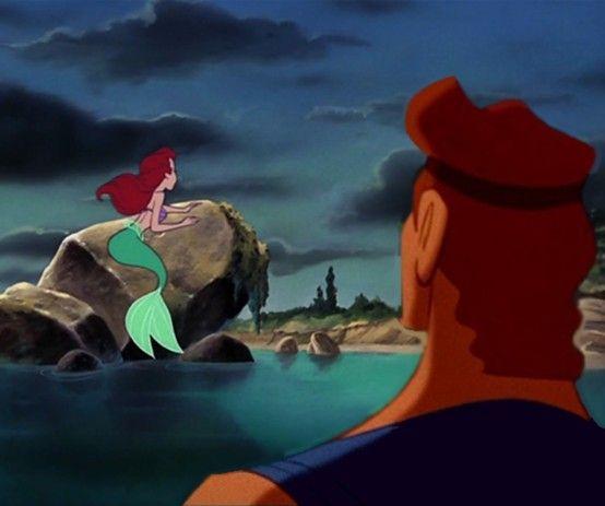 Hercules & Ariel... Voice Actors: Tate Donovan & Jodi Benson