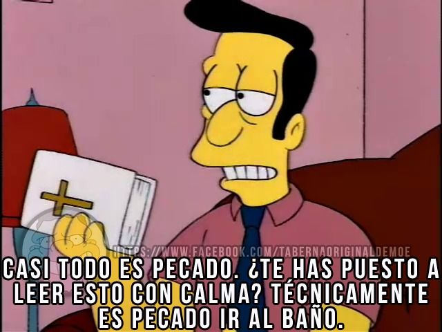 Humor Ateo - Los Simpsons!! :D