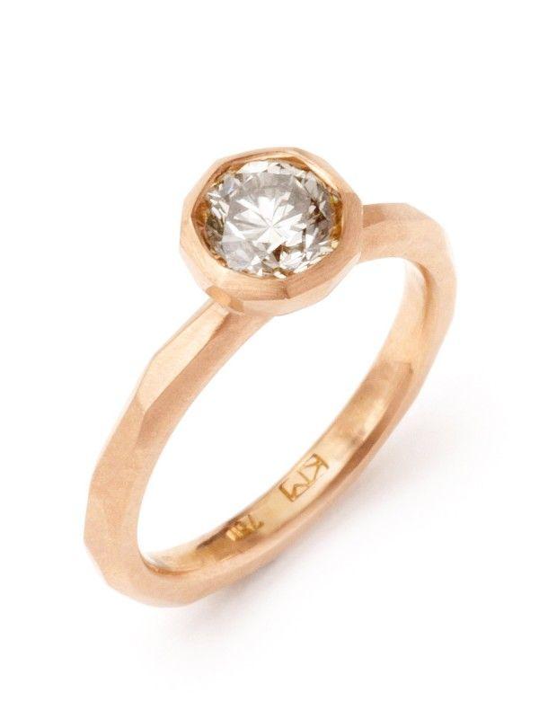 Cupsetting ring Krista McRae Jewellery. www.kristamcrae.com