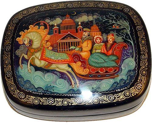 russian lacquer boxes - Sök på Google