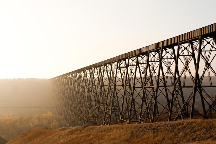 Lethbridge Tressel Railway Bridge