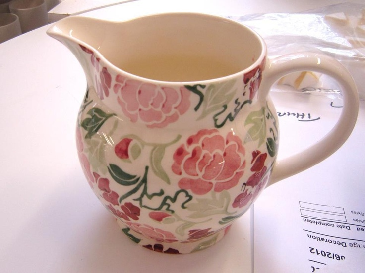 Emma Bridgewater Waitrose 1.5 Pint Jug (pink version)