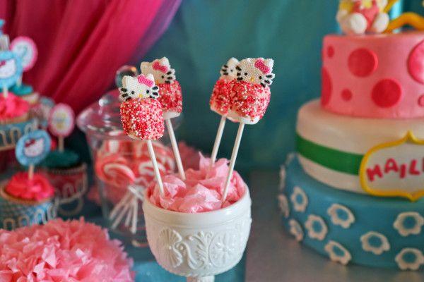 Hello Kitty Party: Hailey's Hello Kitty Birthday - Mimi's Dollhouse