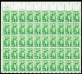 US #1933 Stamps for sale  18 cents Bobby Jones Stamps  Famous Golfer  Full Sheet of 50 Stamps #jones #golf #sports #usa #stamps #postagestamps #vintagestamps