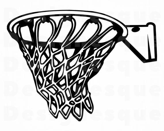 Basketball Hoop 4 Svg Basketball Net Svg Basketball Hoop Etsy In 2020 Basketball Net Basketball Hoop Basketball