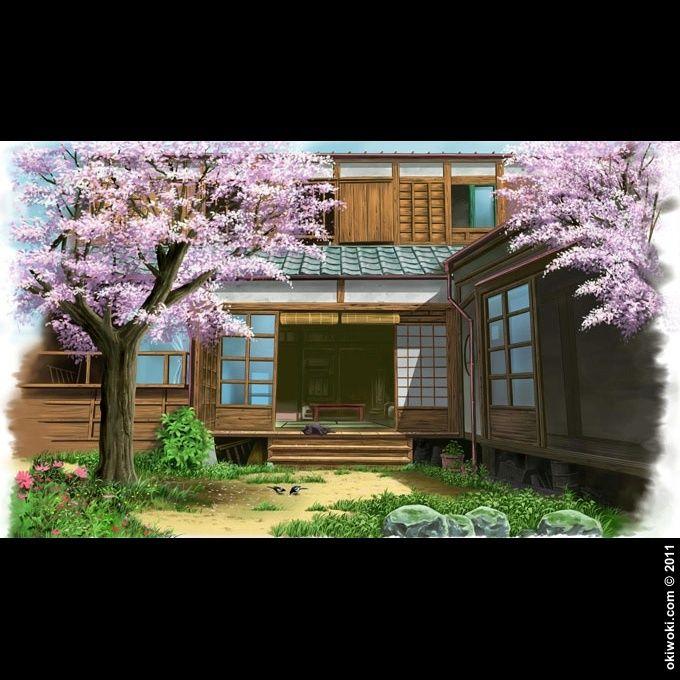 Les 25 meilleures id es de la cat gorie maison traditionnelle japonaise sur p - Maison japonaise en france ...