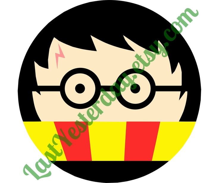 Harry Potter Circle DIGITAL DOWNLOAD svg jpg png Cricut Silhouette Studio cut file by LastYesterday on Etsy