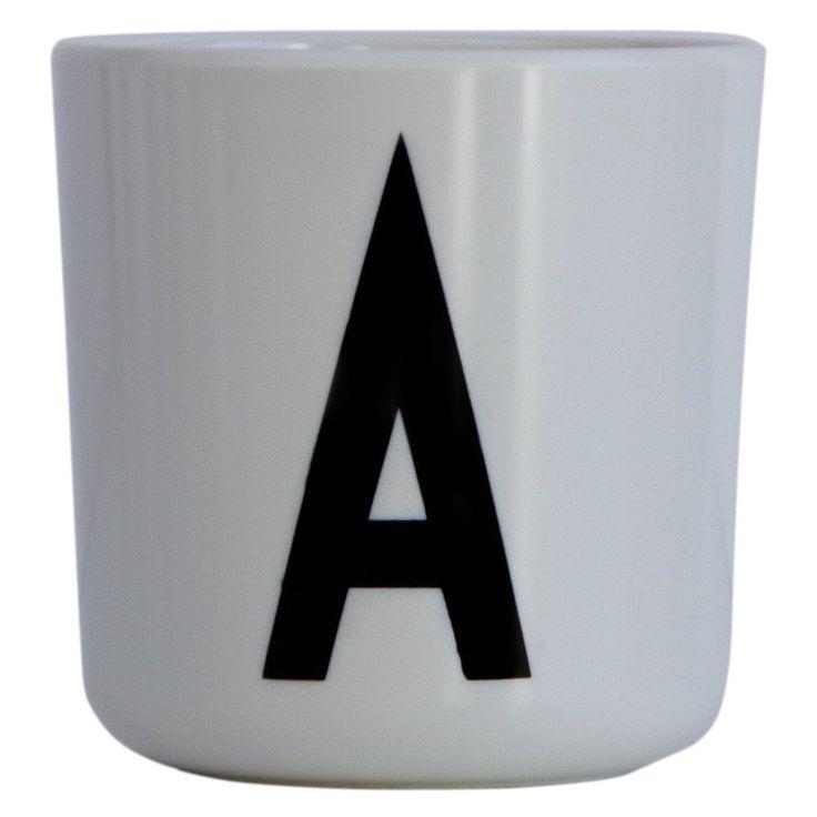 Design Letters kopp melamin A Arne Jacobsen 99,- Ting