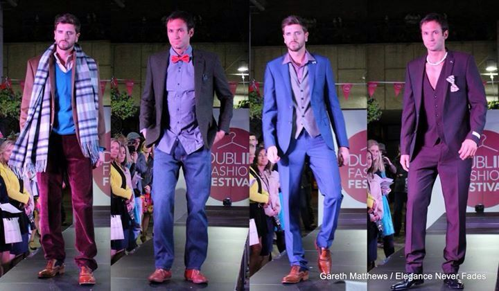 Mens wear styles from Dff fashion show styled by the design house