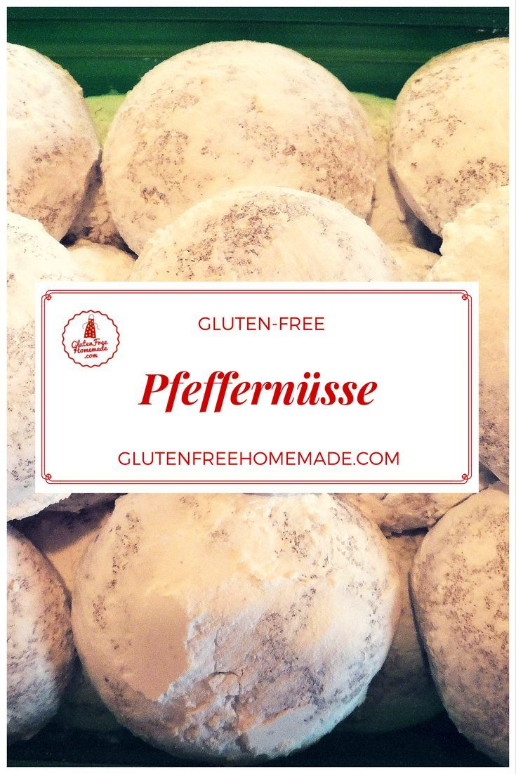 These snowy puffs are unforgettable spicy Christmas cookies, a perfect holiday memory maker! | Pfeffernüsse—The Best Gluten-free German Christmas Cookies! | GlutenFreeHomemade.com