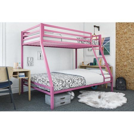 Best Mainstays Premium Twin Over Full Bunk Bed Multiple Colors 400 x 300