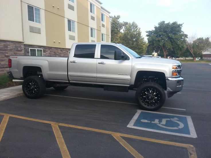 4 inch lift for 2015 2500hd pics/review anyone? - Page 2 ...