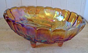 Antiquité Collection Grand plat forme ovale verre Carnaval L Lévis…