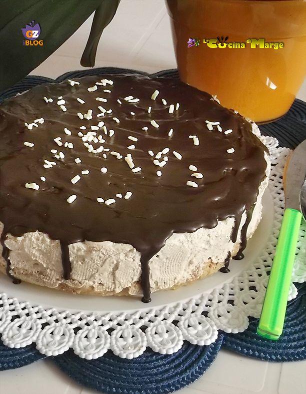 Un dolce facile facile il Semifreddo cioccolato e nutella un dolce fresco senza cottura e colla di pesce http://blog.giallozafferano.it/lacucinadimarge/semifreddo-cioccolato-nutella/
