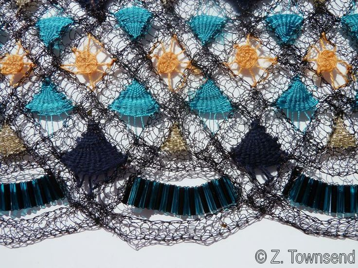Zoe Townsend Knitted Textiles: Knitted trims for fashion textiles