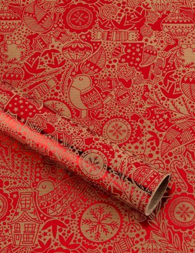 450 best wrapping images on pinterest vintage wrapping paper festive doodles christmas wrapping paper marks spencer negle Images