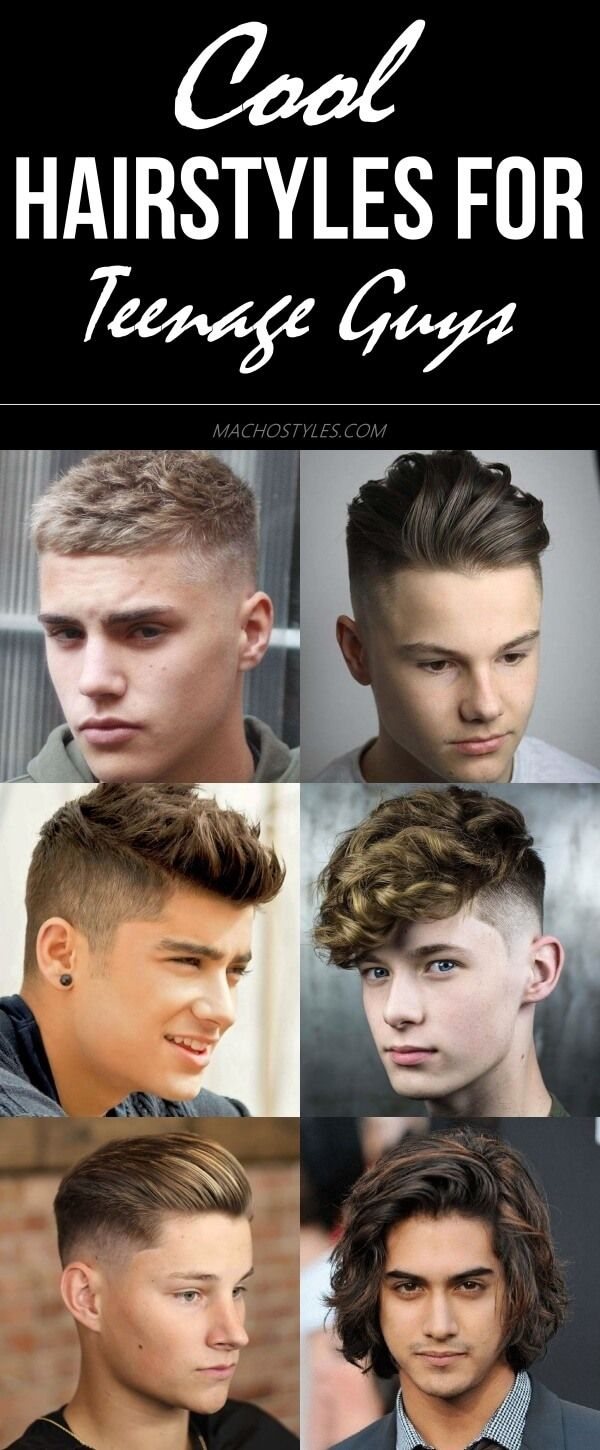 34 Cool Hairstyles For Teenage Guys In 2020 Macho Styles In 2020 Hair Styles Cool Hairstyles Hairstyles For Teenage Guys