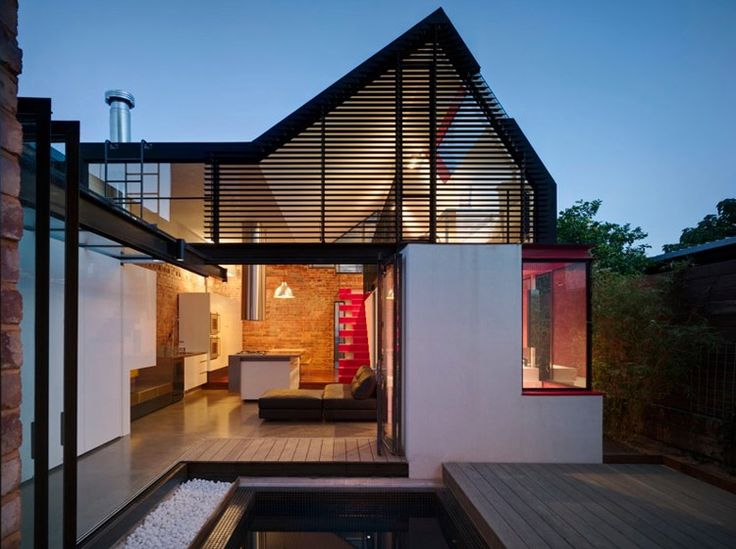 The Vader House by Abdrew Maynard.  Nice volumesContemporary Home, House Design, Modern Victorian, Home Interiors Design, Modern Architecture, Andrew Maynard, Vader House, Design Home, Modern Home
