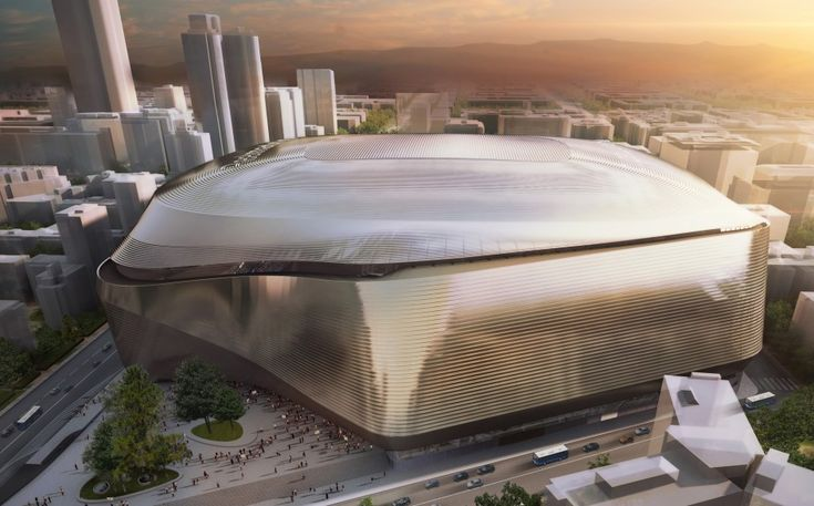 El estadio estará recubierto de acero