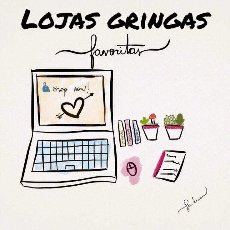 Lojas Gringas favoritas - Jess Vieira