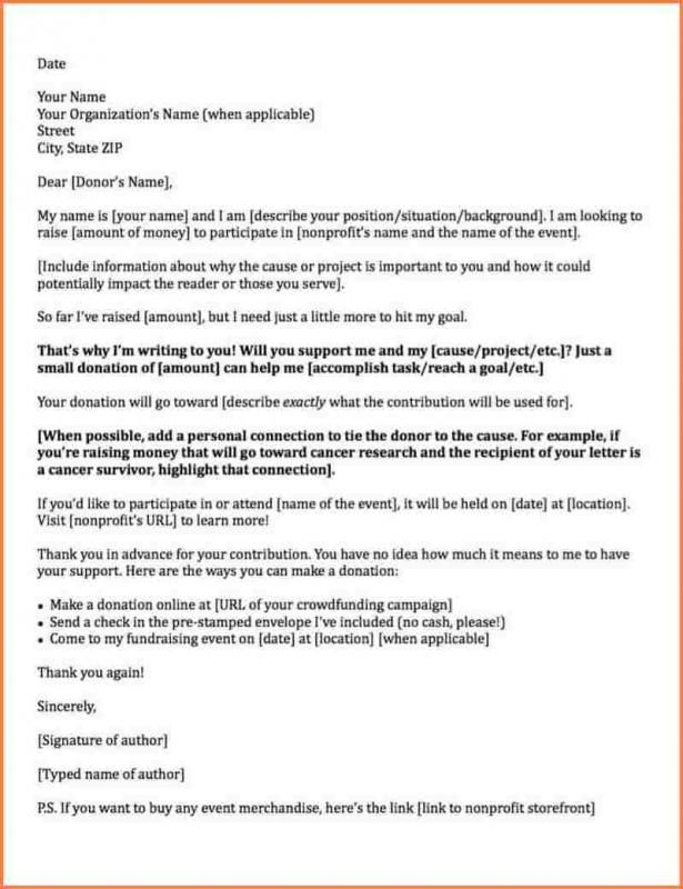 Request For Donations Letter Donation Letter Donation Letter