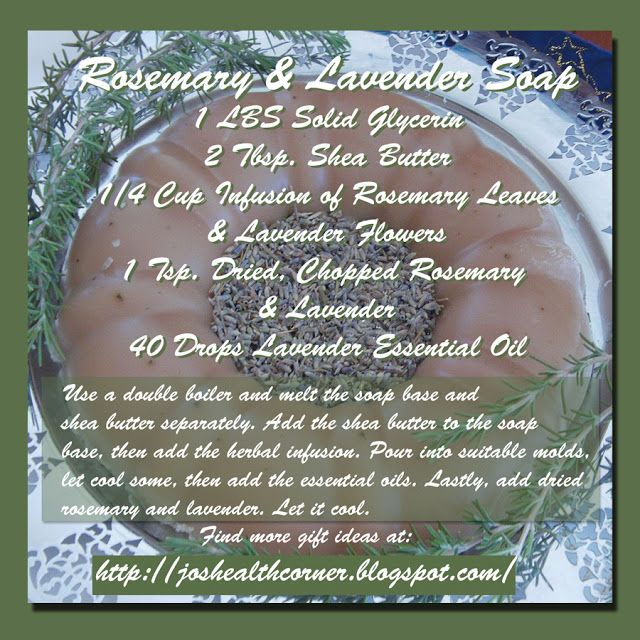 Rosemary Lavender Melt And Pour Soap Bars For Beginners: 17 Best Images About Essential Oil Melt & Pour Soap