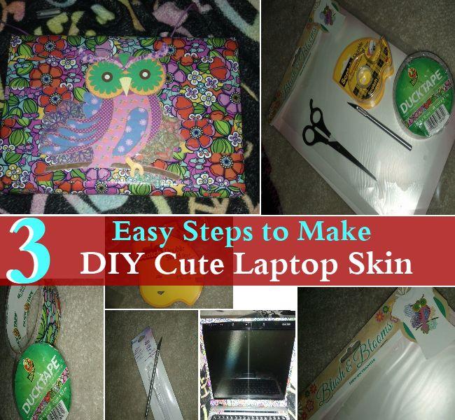 Best DIY Laptop Skins Images On Pinterest Diy Laptop Laptop - How to make laptop decals at home